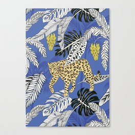 jungle marker pattern Canvas Print