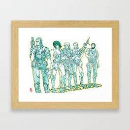 Ghost in the Shell 04 Framed Art Print