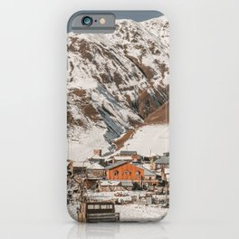 Simple Village iPhone Case