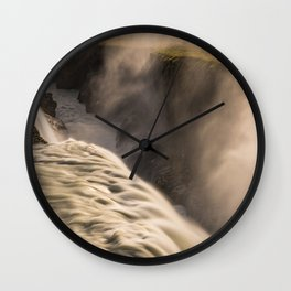 Gulfoss 2 Wall Clock