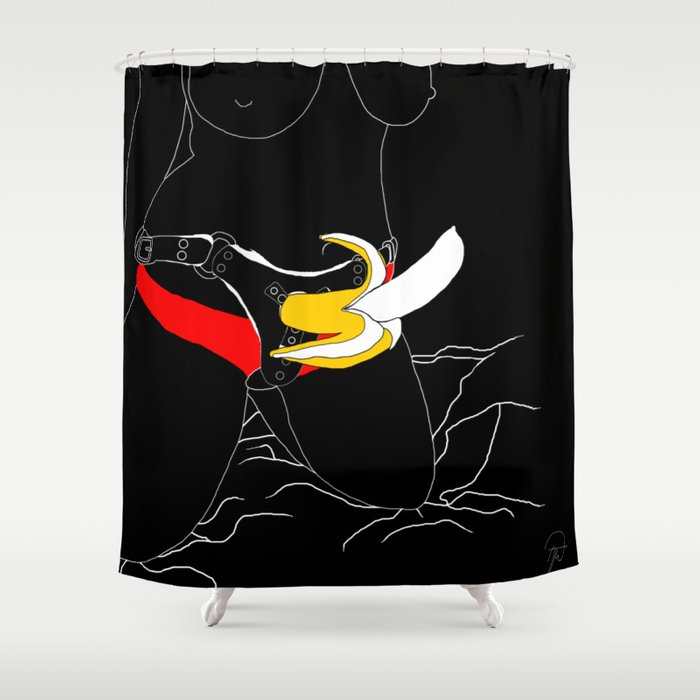 Fruit Of A Different Kind Shower Curtain By Palereast Society6