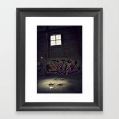 Abandoned Warehouse Framed Art Print