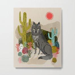 Wolf by Andrea Lauren  Metal Print