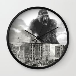 King Kong and the 1904 Fire Department Wall Clock