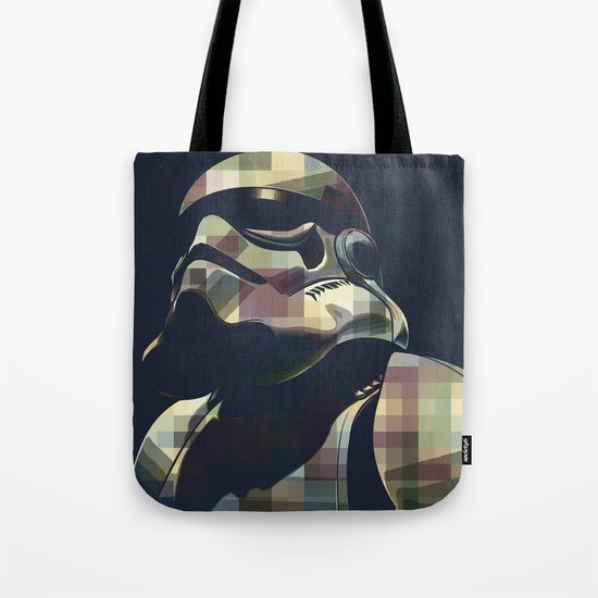 Star War | Storm Trooper Color Square * Movies Inspiration Tote Bag