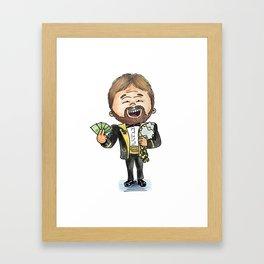 The Million Dollar Man Ted Dibiasi Framed Art Print