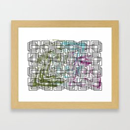 Drops of Paint in my Chaos Framed Art Print