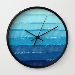 Feeling Wavy Wall Clock