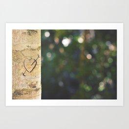 Nature Lovers Art Print