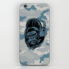 Gorilla with an Attitude iPhone Skin