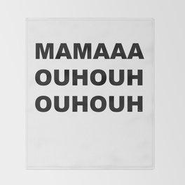 Bohemian Rhapsody Throw Blanket