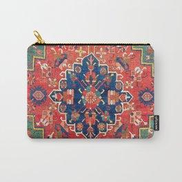 Alpan Kuba East Caucasus Rug Print Carry-All Pouch