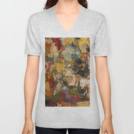 Dariusz Stolarzyn a Little Bit of Everything Oil Painting Unisex V-Neck