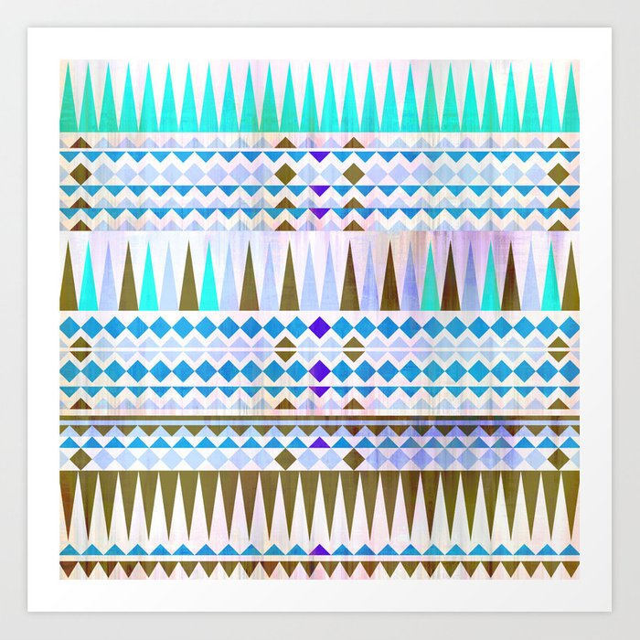 Mix #544 Art Print