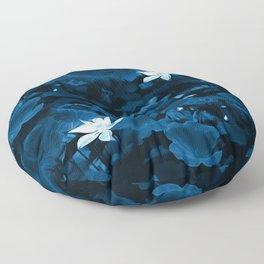 Enchanted Garden - A Lotus Pattern Floor Pillow