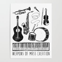 Weapons Of Mass Creation - Music Poster