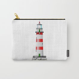 Isolated Lighthouse Carry-All Pouch