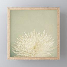 Pale Beauty Framed Mini Art Print