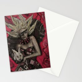 Alice the Queen Stationery Cards