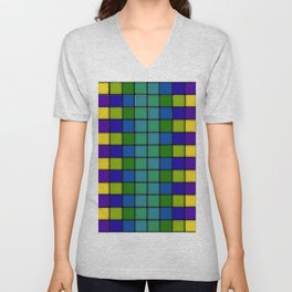 Out of Focus Chex Unisex V-Neck