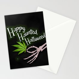 Happy Haunted Halloweed Stationery Cards