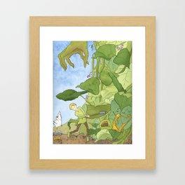 Hurry, Jack! Framed Art Print