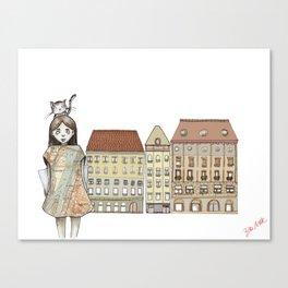 Budapest Canvas Print