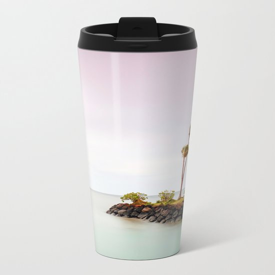 Island Life Metal Travel Mug