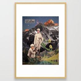 Wildfire Framed Art Print