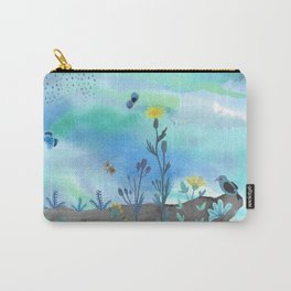 Blue Garden I Carry-All Pouch