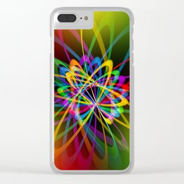 Abstract perfection - 102 Clear iPhone Case
