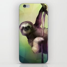 Sloth (Low Poly Multi) iPhone Skin