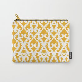 Modern Baroque Yellow Carry-All Pouch