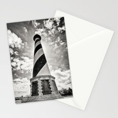Cape Hatteras Lighthouse, Outer Banks NC (Black & White/Sepia-toned) Stationery Cards