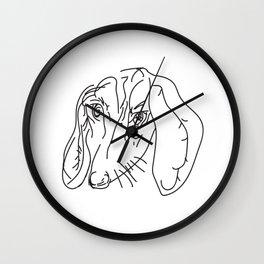 My Friend # dachshund #dog Wall Clock