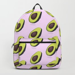 Avocado organic print Backpack