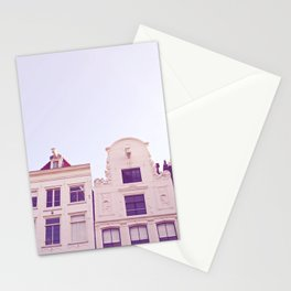 Canal houses Stationery Cards