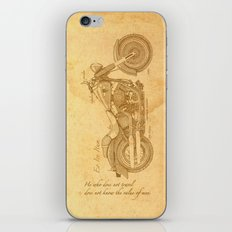 Travel Plan iPhone & iPod Skin