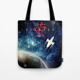 Firefly reach for the sky digital art Tote Bag