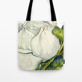 Magnolia with Leaves Tote Bag