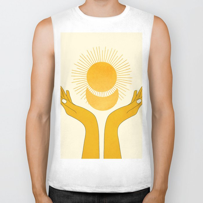 Holding the Light Biker Tank