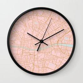 Dublin map, Ireland Wall Clock
