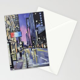 Evening Lights of the Burgh Stationery Cards
