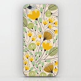 Floral Pattern - Doodle Pattern - Pattern iPhone Skin