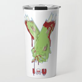 Zombie Couples - Halloween Valentine's Day Love Travel Mug