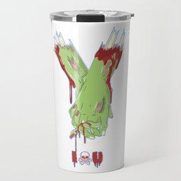 Zombie Couples - Halloween Valentine's Day Love Travel Mug