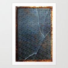 Broken Pane Art Print