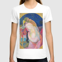 Robert Delaunay - Nude woman reading, 1915 T-shirt