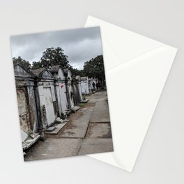 A Cemetery in New Orleans Stationery Cards