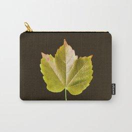 Autumn Citrus Leaf Series Carry-All Pouch